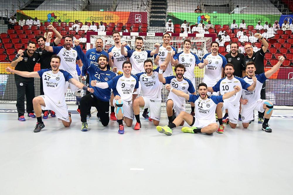 EC Pinheiros é 5º colocado noSuper Globe 2017  (foto divulgação IHF)