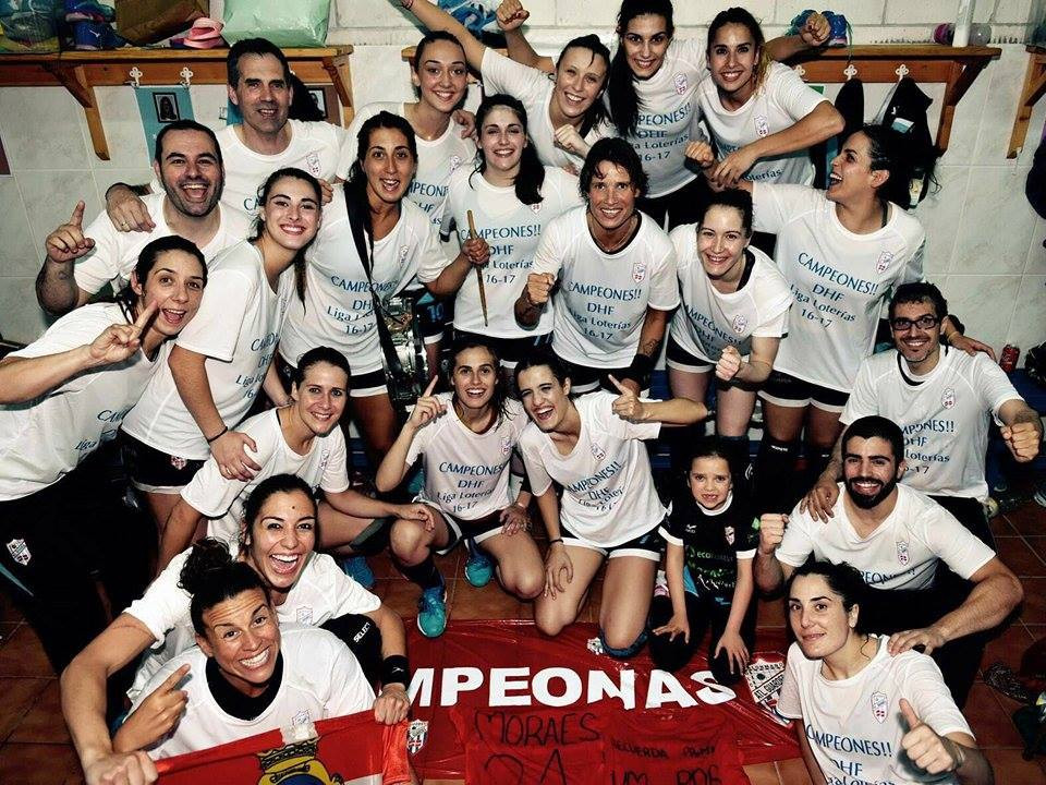 Club Atlético Mecalia Guardés foi o campeão da liga espanhola feminina na temporada 2016/2017 (foto divulgação Guardés)