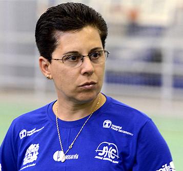 Rita Orsi, técnica do Jundiaí (foto Dorival Pinheiro Filho)