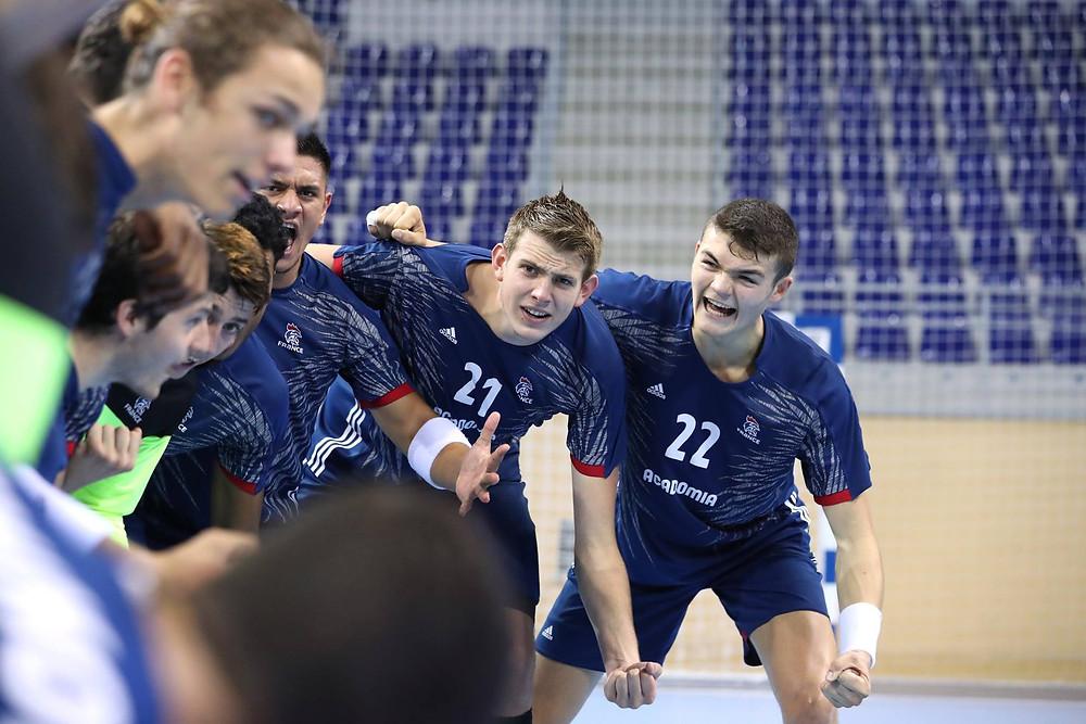 Seleção Francesa, favorita do confronto e candidata ao título. (foto divulgação IHF)