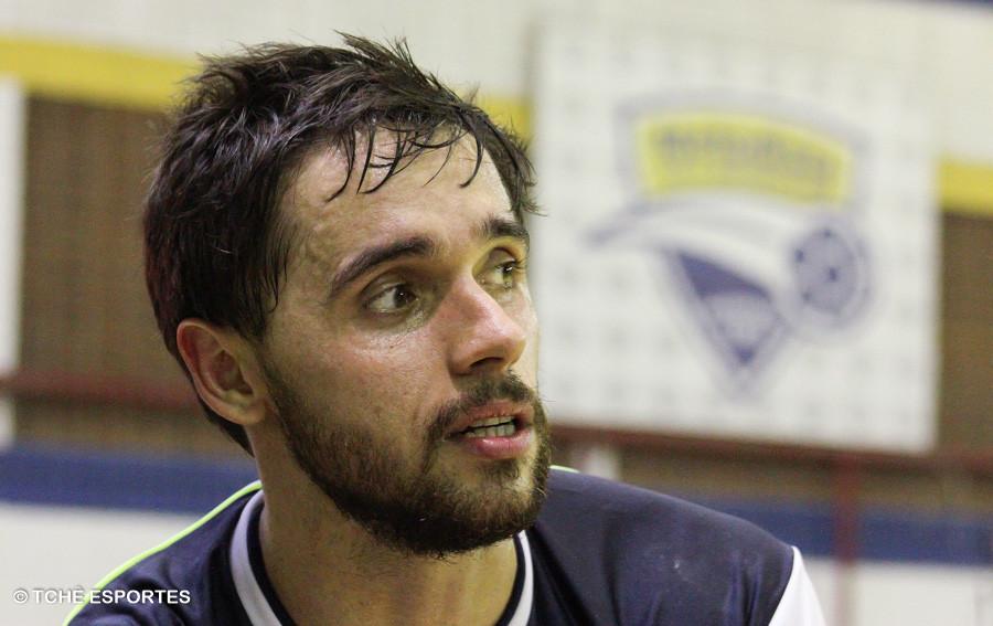 Diogo Huber, Metodista. (foto arquivo Tchê Esportes)