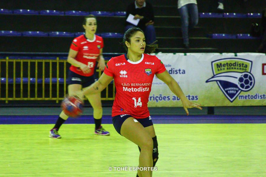 Deborah Hannah, atleta do São Bernardo. (foto arquivo Tchê Esportes)