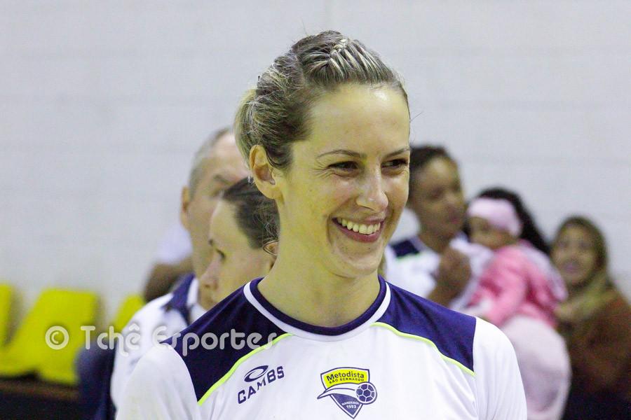Celia Coppi, Metodista. (foto André Pereira / Tchê Esportes)
