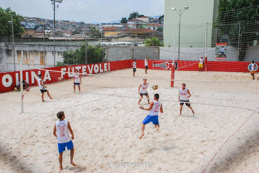 Vinte duplas inscritas na 1ª etapa. (foto André Pereira / Tchê Esportes)