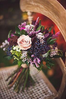 Bouquet diseño bohemio