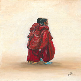 Bhuddist Buddies of Bhutan