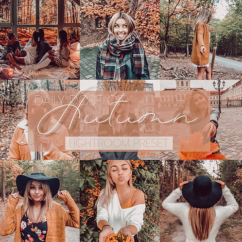 Dianosaurier - Daily Dose Of Autumn Preset 🍂