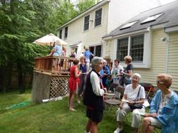 Many social gatherings