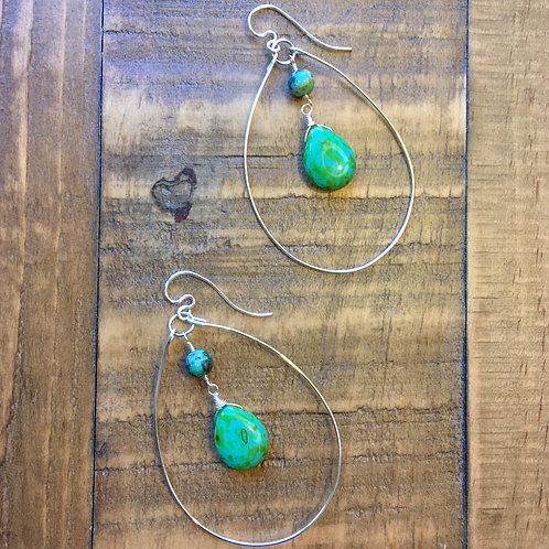 silver egg-drop island breeze earrings 1