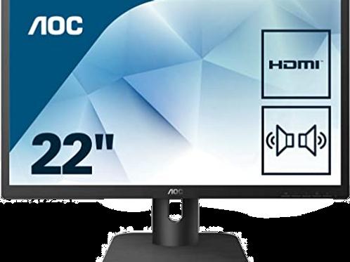 """Монитор AOC 22"""" 22E1D"""