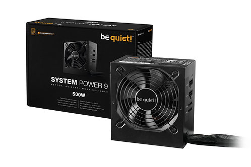 BE QUIET! SYSTEM POWER 500W