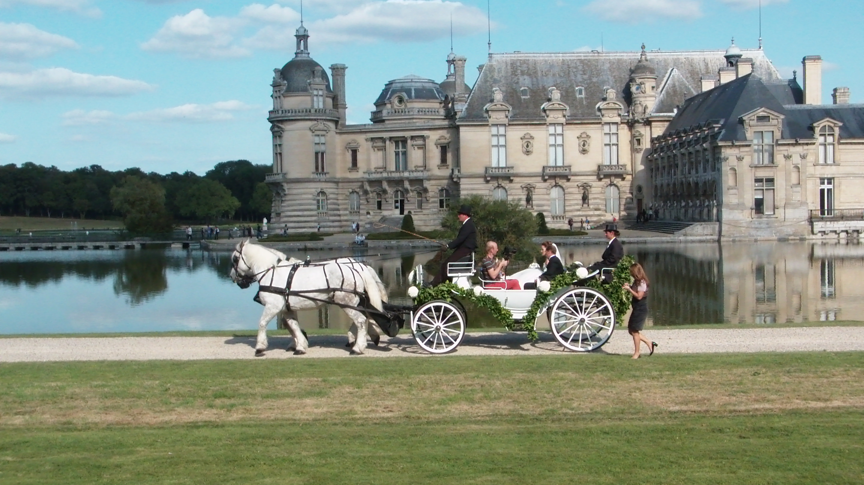 Mariage Russe au château Chantilly