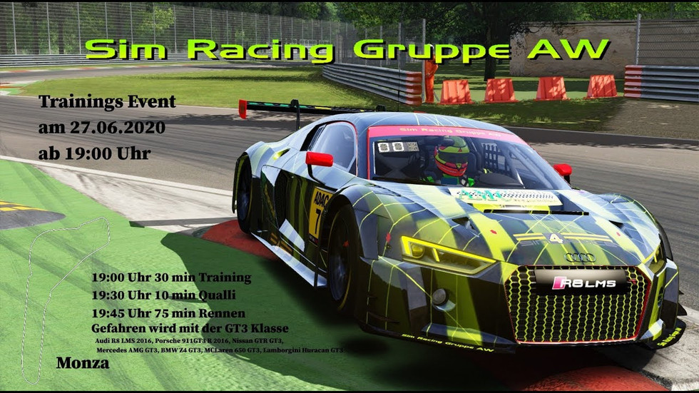 Trainings Event Monza