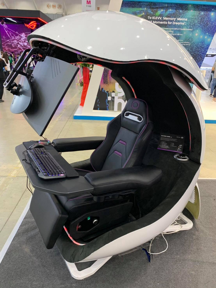 Cooler Master's new concept game pod straight from Computex 2019