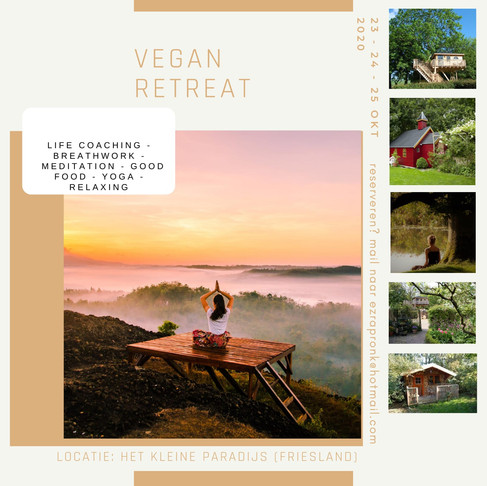 Retreat October 2020 FULLY BOOKED
