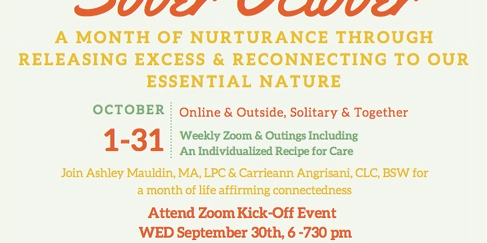 Releasing Excess & Reconnecting to Our Essential Nature