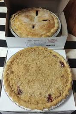 Troyer's Red Raspberry Pie