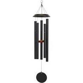 METAL WIND CHIME 42INCHES BLACK