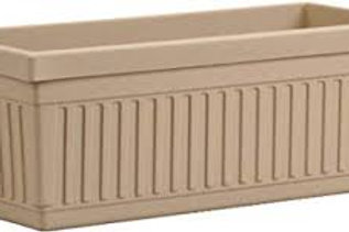 GROOVE Window BOX  SAND 18IN