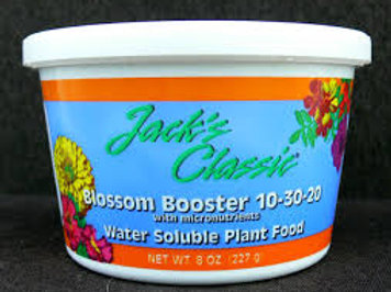JACKS BLOOM BOOST 8OZ fertilizer