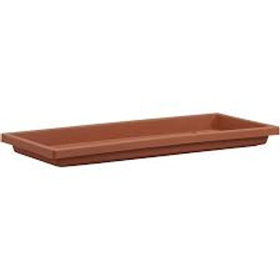 Plastic Box Tray Terra Cotta  30IN
