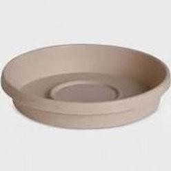 Fiskars Plastic Saucer DEEP 10IN SAND
