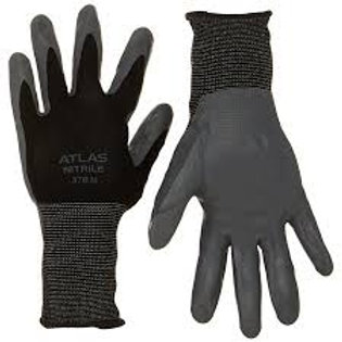 ATLAS NITRILE TOUGH BLACK LARGE