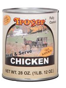 Troyer's Chicken Ready to Eat 28oz.