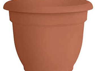 Fiskars Ariana Plastic Pot 12IN CLAY