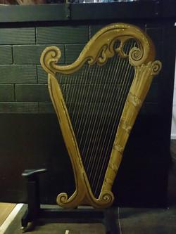 Panto harp on truck