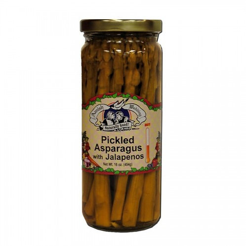 AWF Pickled Asparagus with Jalapenos