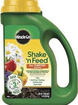 MIRACLE GRO SHAKE/FEED 4.5LB