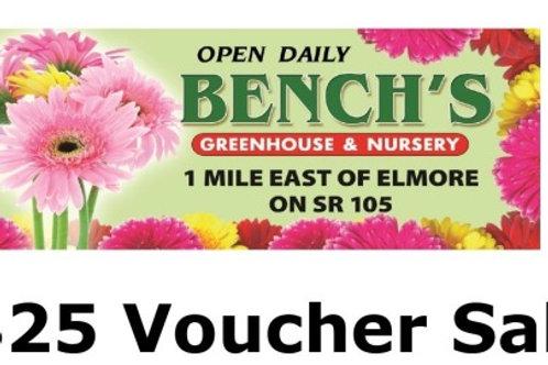 Bench's $25 Plant Voucher