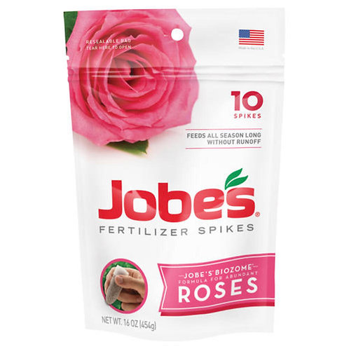 JOBES 10CT ROSE SPIKES