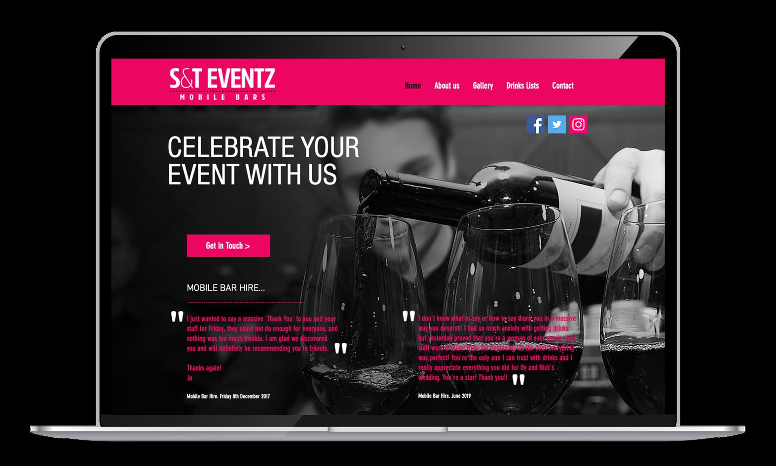 ST Eventz  I  Mobile Bar Hire