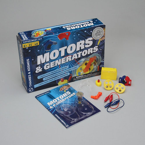 Thames & Kosmos® Motors and Generators Kit