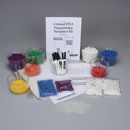 Criminal DNA Fingerprinting Simulation Kit