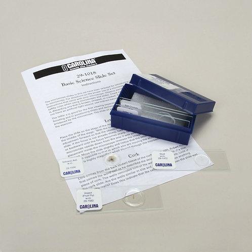 Basic Science Microscope Slide Set