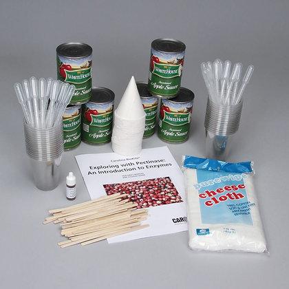 Carolina BioKits®:Exploring with Pectinase:Introduction to Enzymes w/ perishable