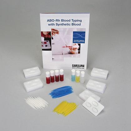 Carolina® ABO-Rh Typing with Synthetic Blood Kit