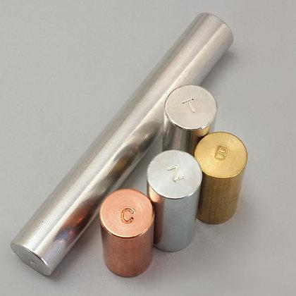Alternative Equal Mass Metal Cylinder Set