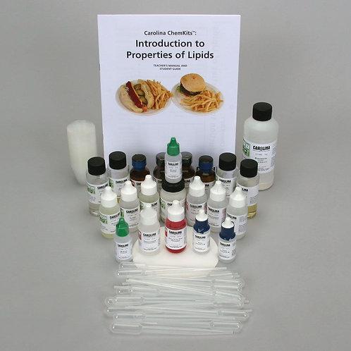 Carolina ChemKits: Introduction to Properties of Lipids Kit