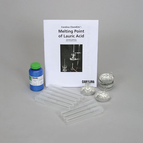 Carolina ChemKits: Melting Point of Lauric Acid Kit