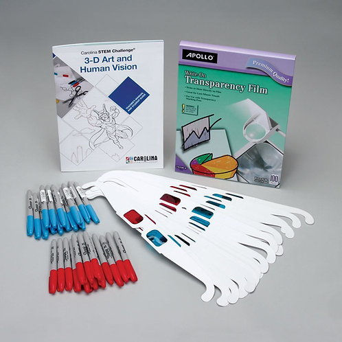 Carolina STEM Challenge®: 3-D Art and Human Vision Kit