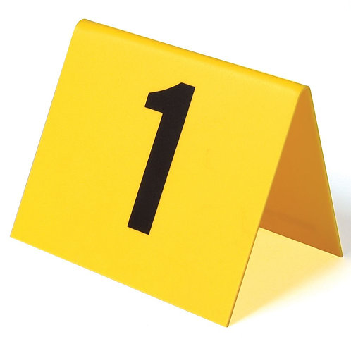 Photo Evidence Numbers, Set of 15