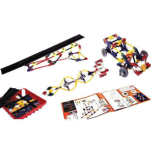 K'NEX Education Introduction to Wheels & Axles and Inclined Planes Set
