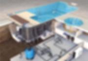 équipement piscines electrolyseur régulateur ph skimmer