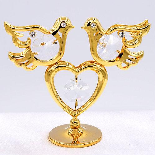 2 Doves on Heart