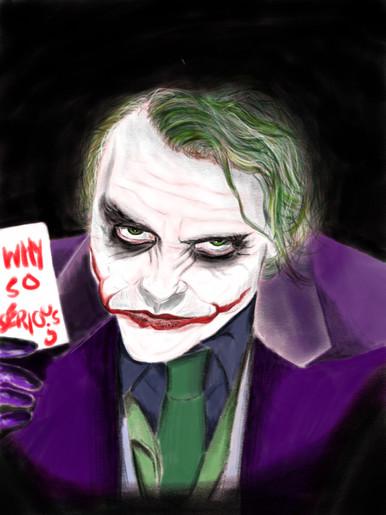 Heath Ledger 'The Joker'