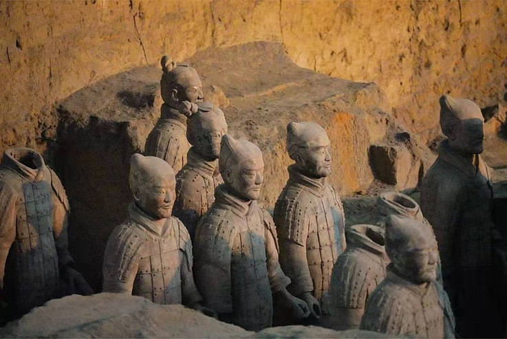 The Terracotta Warriors, Xi'an, Shaanxi, China